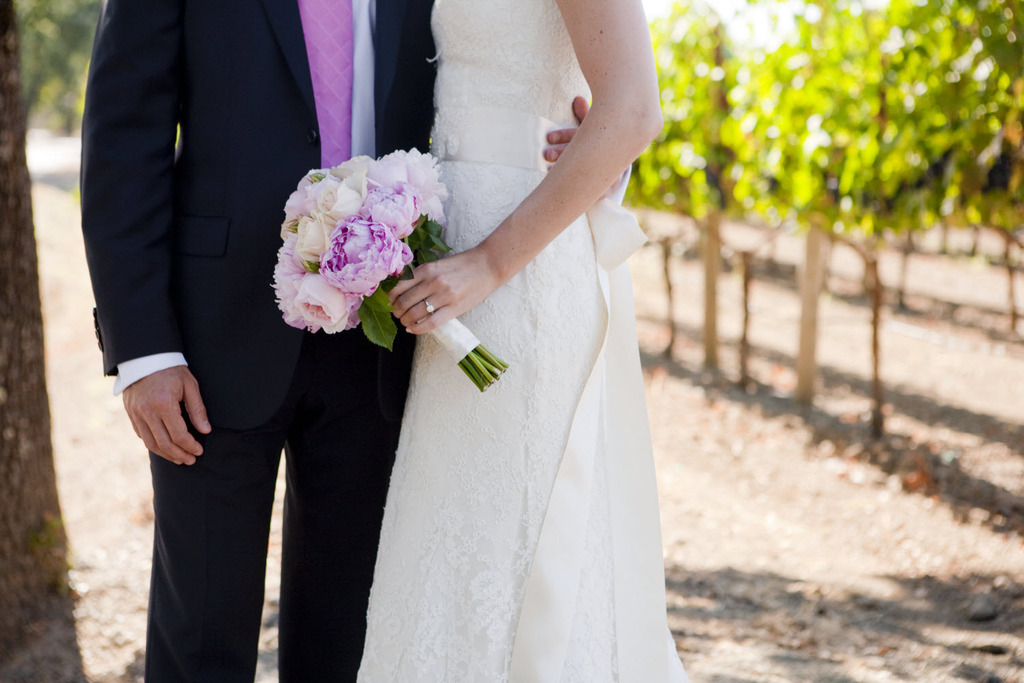 Romantic-california-wedding-outdoor-venue-winery-ivory-lace-wedding-dress.full