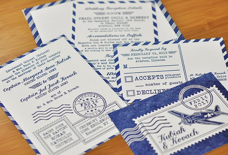 Army Wedding Invitations: Pilot-Military-Army-Letterpress-Wedding-Invitation-suite-SM