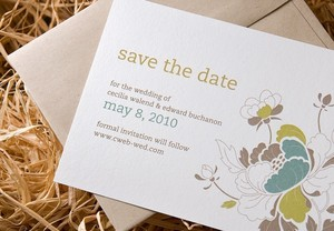 photo of Hue Garden eco-friendly wedding invitation by Papier Lapin