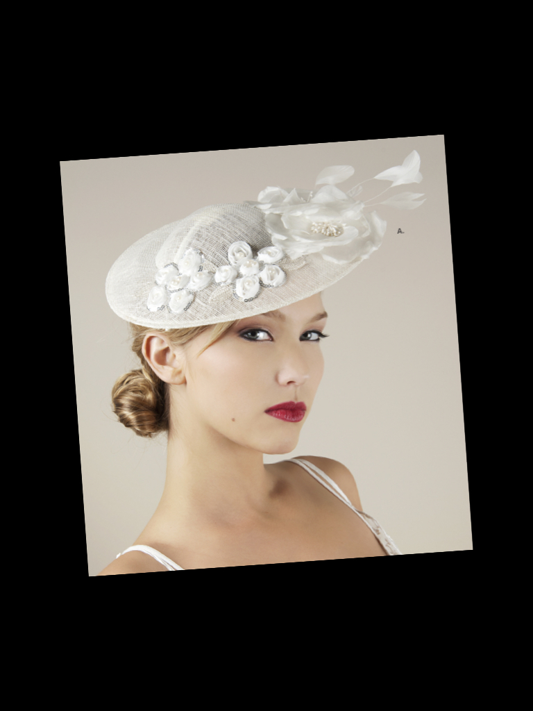 Royal-wedding-bridal-style-inspiration-wedding-hat-floral-applique-feathers.full
