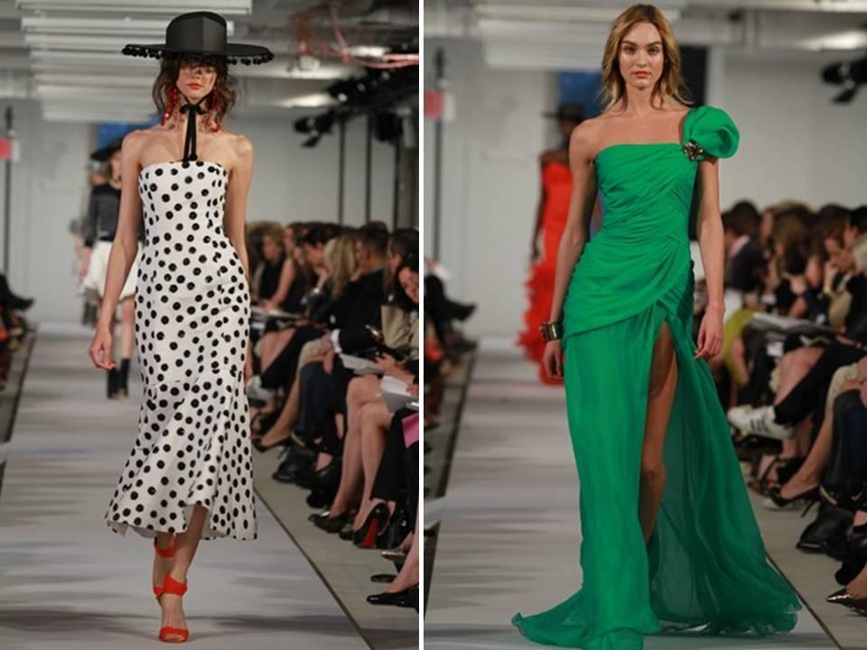 Emerald-green-black-white-polka-dot-wedding-color-palette-one-shoulder-bridesmaids-dress-slit-2011-wedding-dress-trends.full