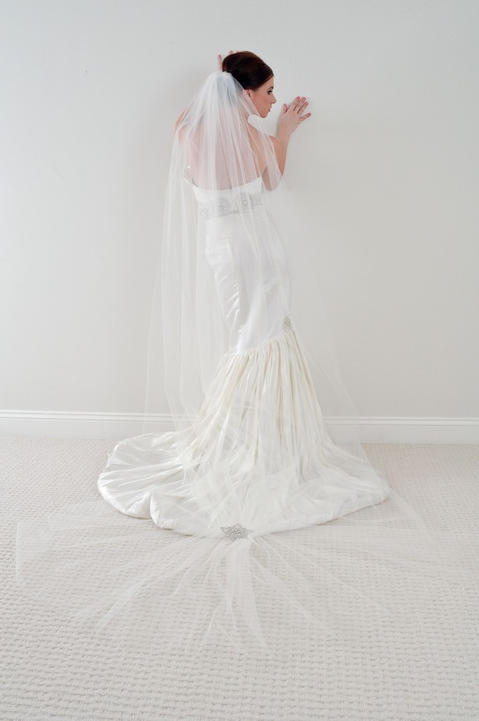 photo of Why the Long Veil? Bridal Veils 101