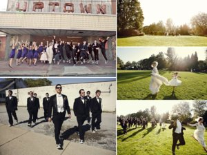 photo of Artsy Bride and Groom Plan Vintage Country Club Wedding