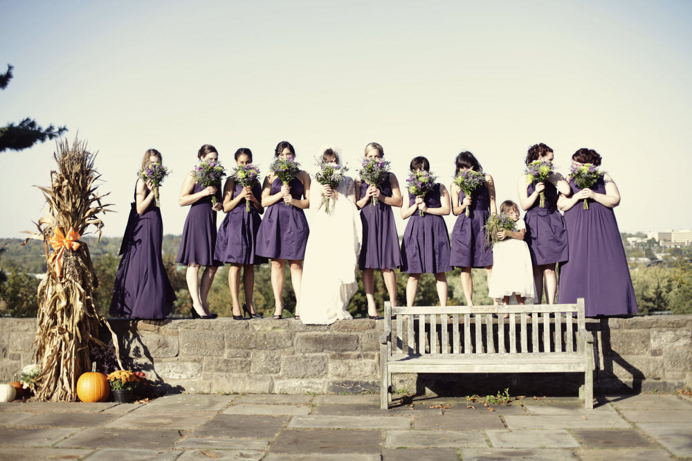 Purple-bridesmaids-dresses-mix-and-match-wedding-trend-outdoor-wedding-photography.full
