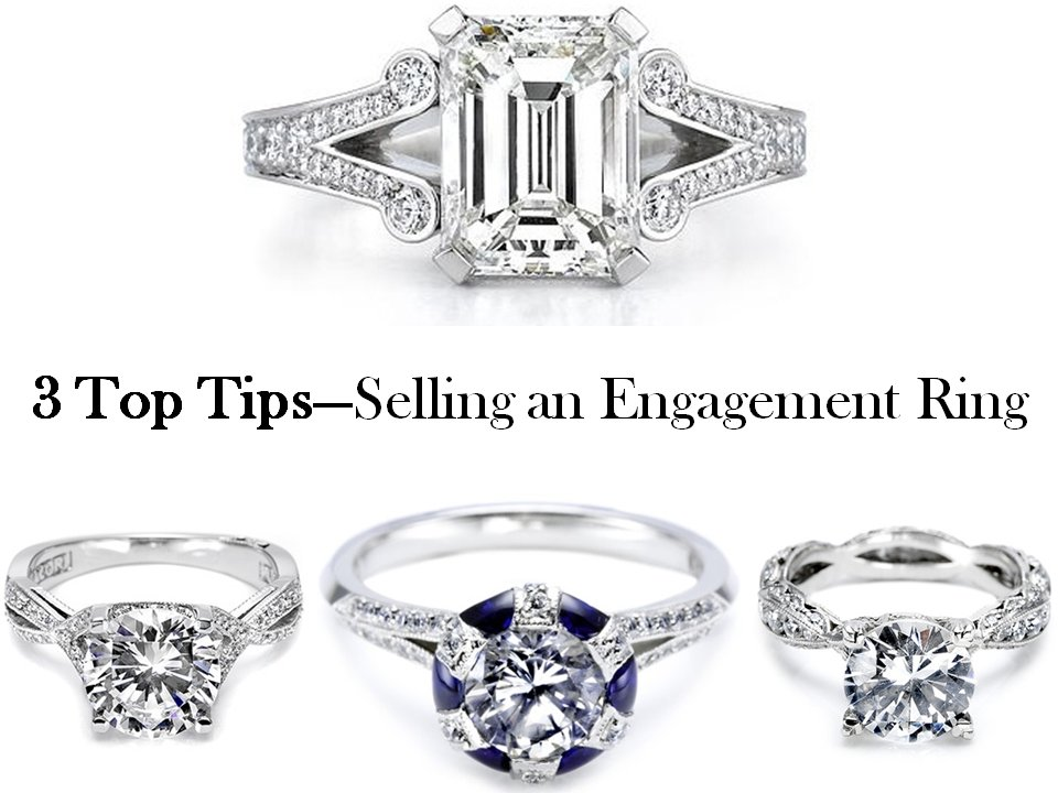 3 top tips to selling a pre owned engagement ring or wedding band - Selling Wedding Ring