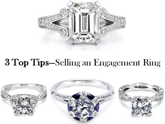 3 top tips to selling a pre-owned engagement ring or wedding band