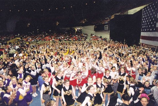 Semi-National Cheerleading and Dance Championship - Alliant Energy Center, Madison Wisconsin