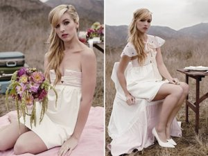 photo of Small Wedding Chic: Bridal Style Inspiration