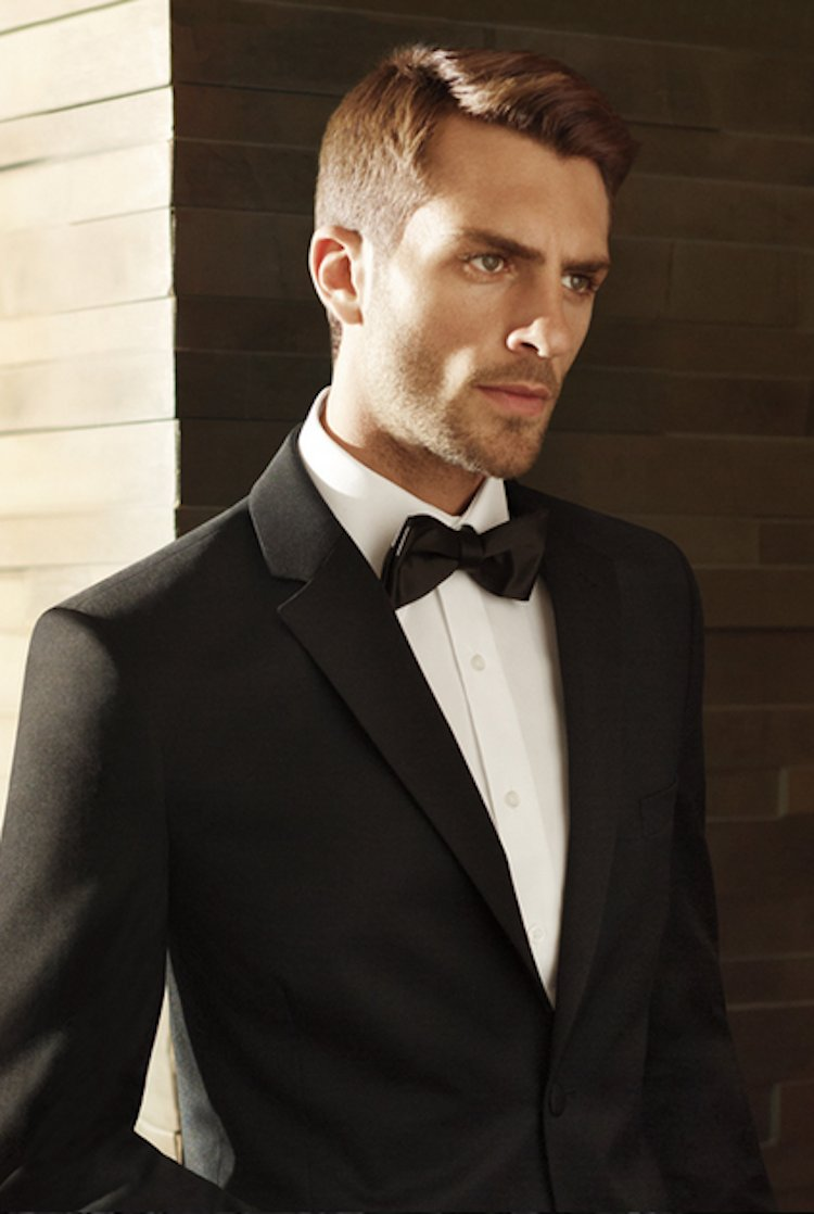 Black by vera wang tuxedo from men s wearhouse for Tuxedo house