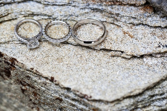 Rings on stone