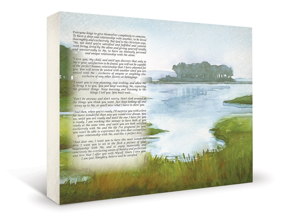 Serene wedding art from Art Vows- a gift you'll treasure forever!