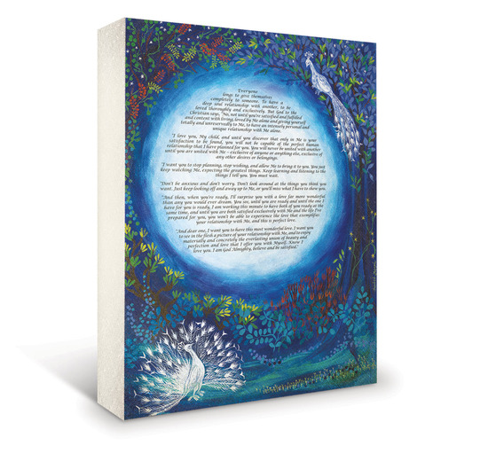 Vibrant creative wedding certificate and fine art from Art Vows