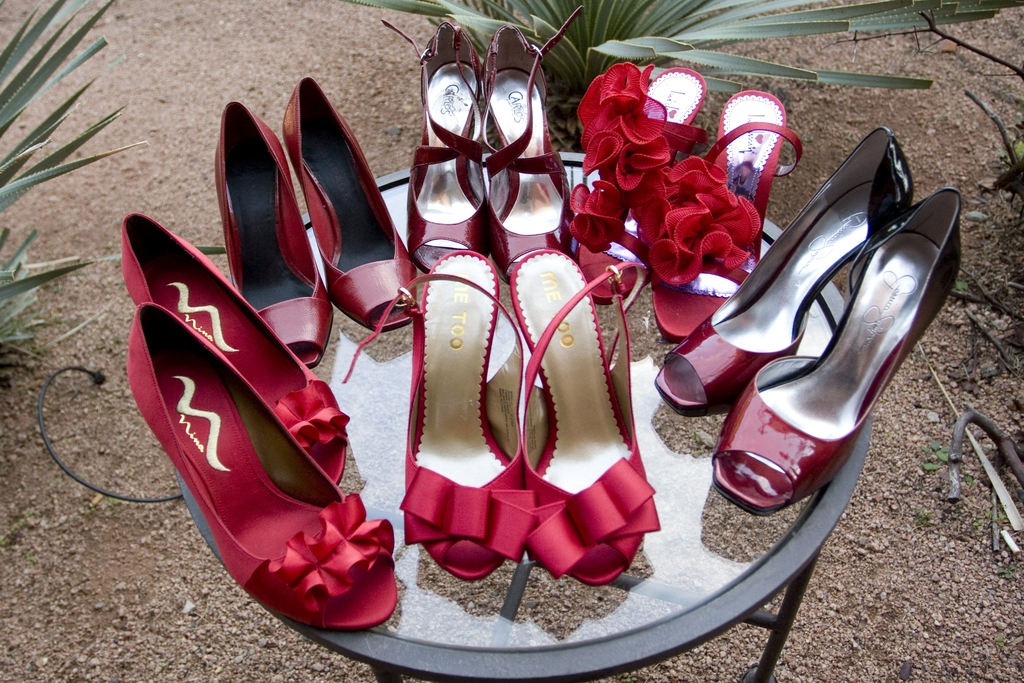Charity-wedding-ideas-red-bridal-heels-bridesmaids-shoes.full