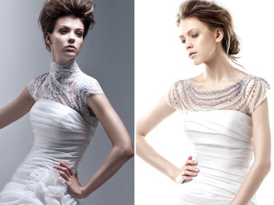 2012 Wedding Accessories Trend Alert! Bridal Boleros