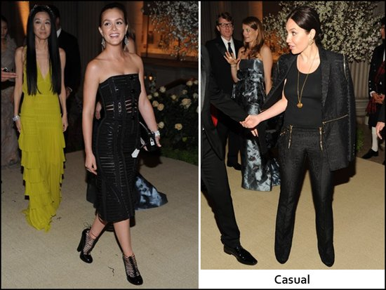 Vera Wang and Leighton Meister at Met gala in NYC