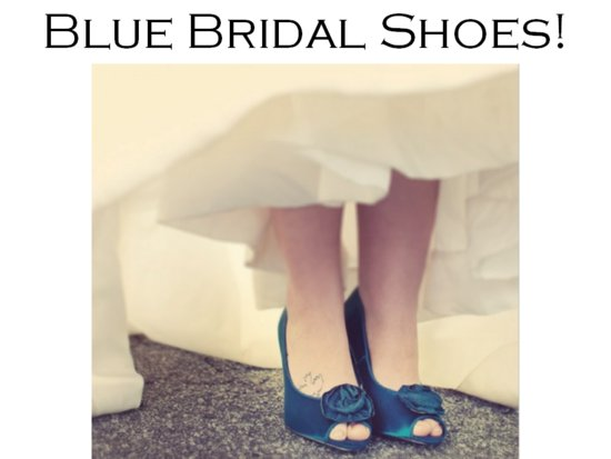 Chic flat bridal heels from Kate Spade with floral detail
