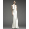 Nicole-miller-wedding-dresses-deep-v-neck-silk-cowl-neck-ribbon-tie-waist-ivory-dp0019-pippa-middleton-royal-wedding.square