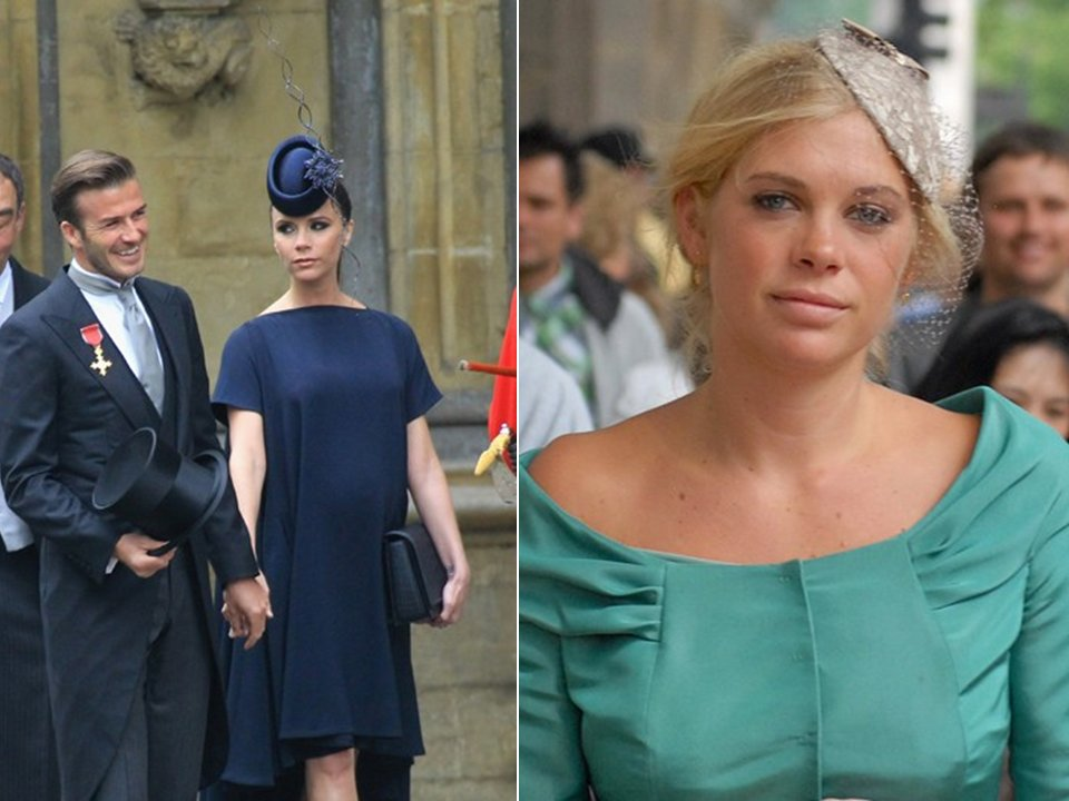 Victoria Beckham And Chelsea Davy Wear Chic Hats And Fascinators To