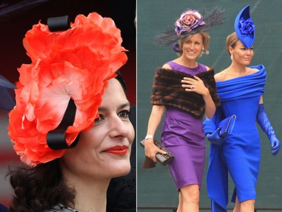 Royal wedding trend alert- haute couture hats for wedding guests