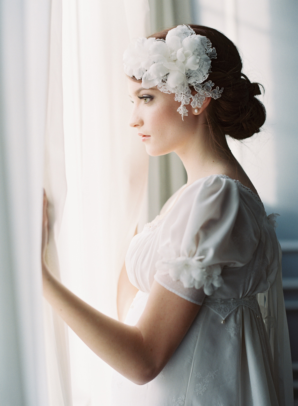 Lovely Flower Crown Veil