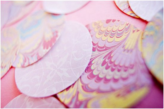 Gorgeous purple, pink and lavender summer wedding color palette
