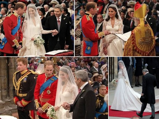 Prince William and Kate Middleton's April 29, 2011 royal wedding