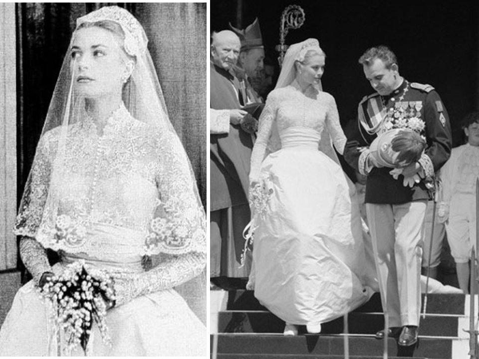 Kate middleton 39 s dress is like grace kelly 39 s royal wedding Grace kelly wedding dress design