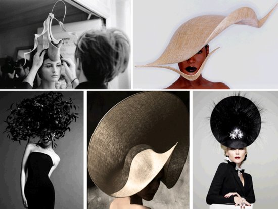 Philip Treacy, royal wedding hat designer, custom designs
