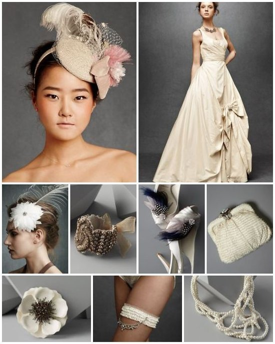 photo of Create a Royal-Inspired Wedding Moodboard for BHLDN