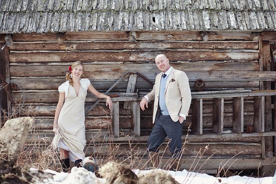 Outdoor Casual Wedding In Vancouver- Grey Bridesmaids