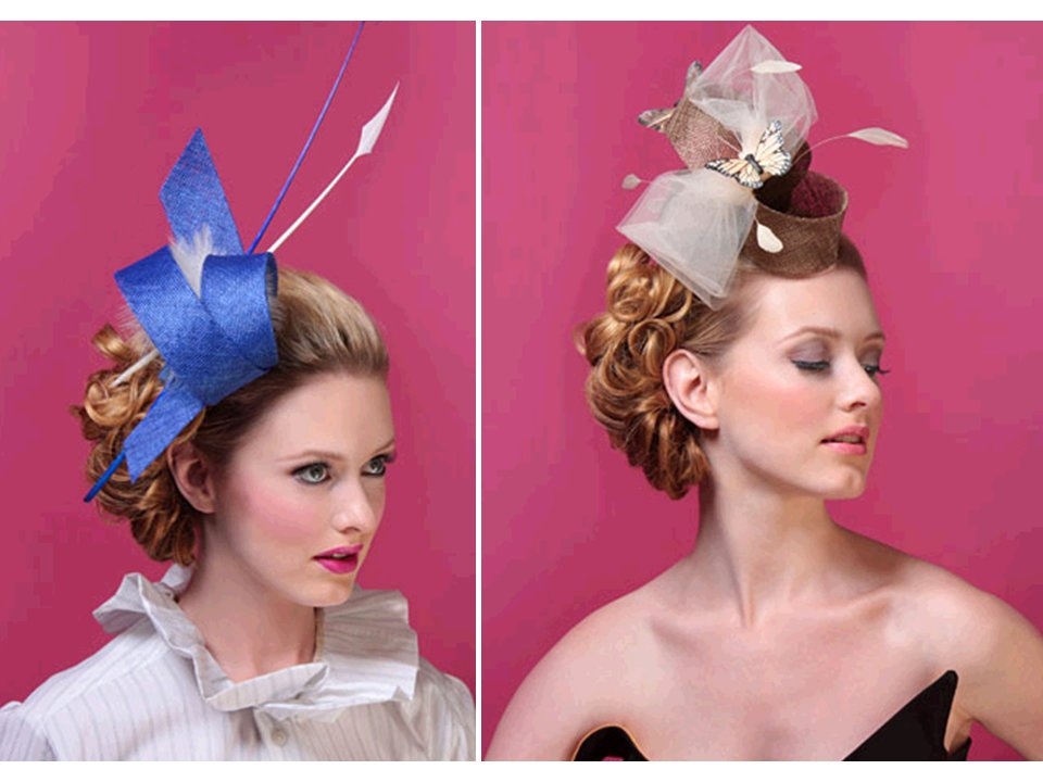 Chic royal wedding headwear for wedding guests