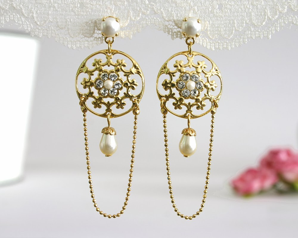 Fantastic_gold_pearl_and_diamond_wedding_earrings.full