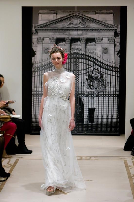 photo of Princess-Worthy Wedding Dresses: Reem Acra, Spring 2012