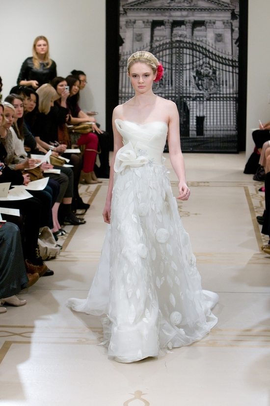 photo of Princess-Worthy Wedding Dresses: Reem Acra, Spring 2012