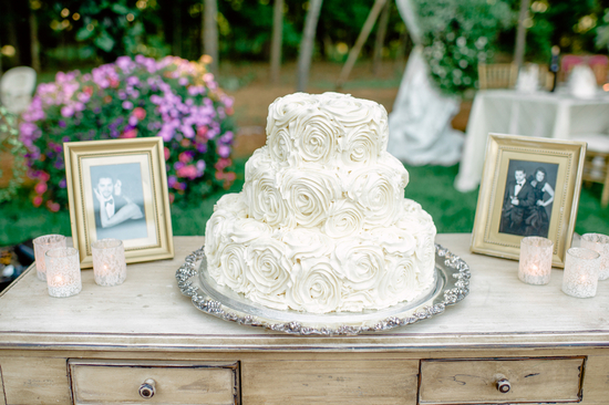 photo of A Novelesque, Vintage-Inspired Garden Wedding