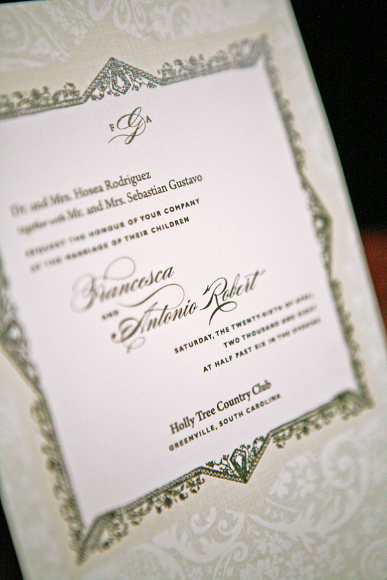 photo of Royal wedding buzz and style inspiration! Opulent wedding invitations by Lano Design Studio