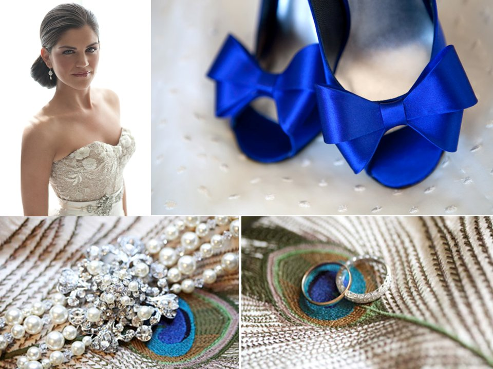 Royal-wedding-bridal-style-blue-wedding-shoes-bridal-accessories.full