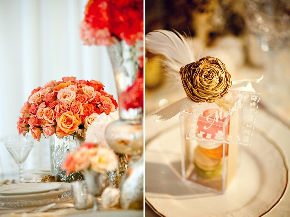 Anthropologie-inspired-wedding-decor-bhldn-orange-wedding-flowers-guest-favors.full