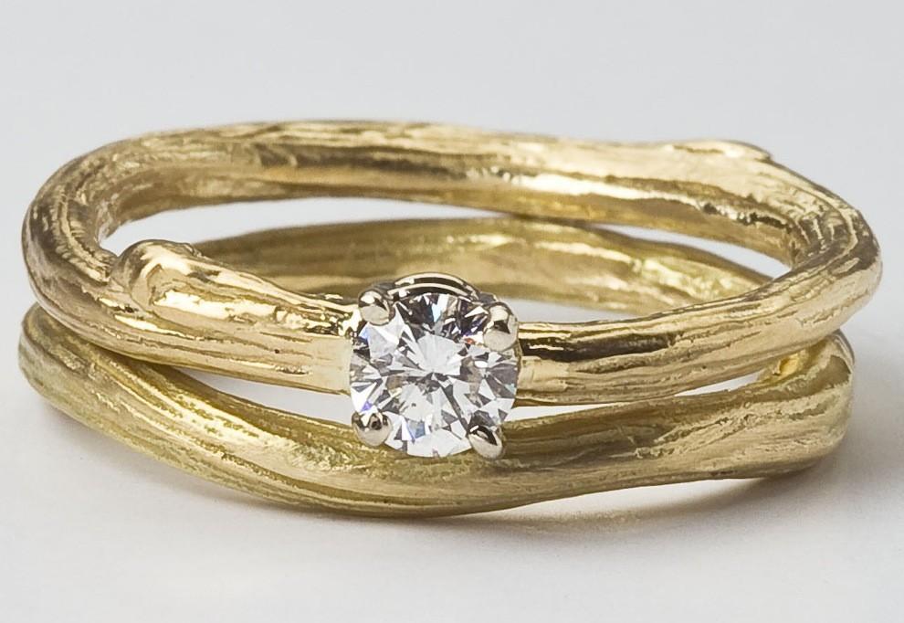 Natural Wedding Rings 006 - Natural Wedding Rings