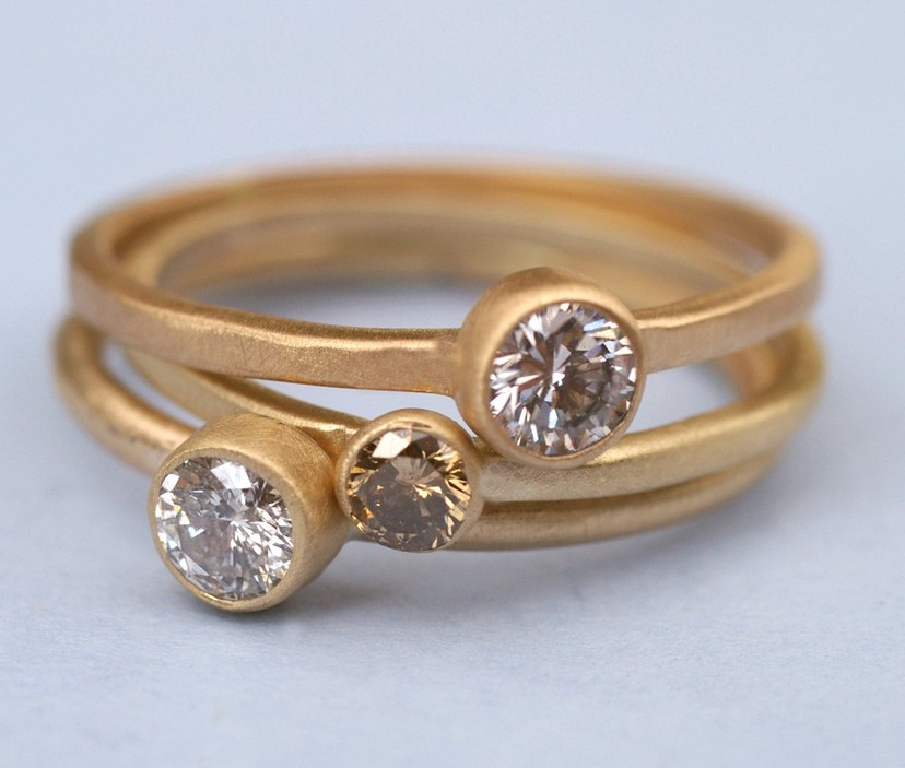 eco friendly recycled gold engagement ring - Eco Friendly Wedding Rings