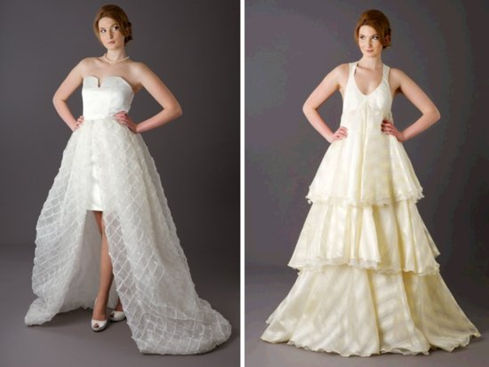 photo of Convertible Wedding Dresses: The Long and Short of It
