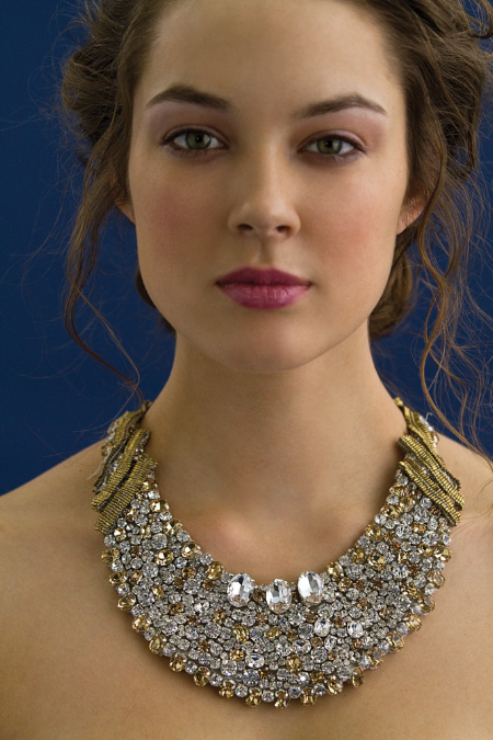 photo of 2011 Bridal Style Inspiration: Stunning Statement Necklaces