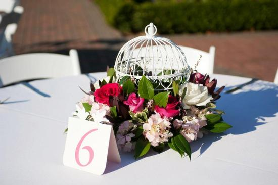 Table Centerpiece Cage
