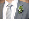 Dapper-groom-grey-suit-formalwear-eco-friendly-boutoinniere-succulents-wedding-flowers.square