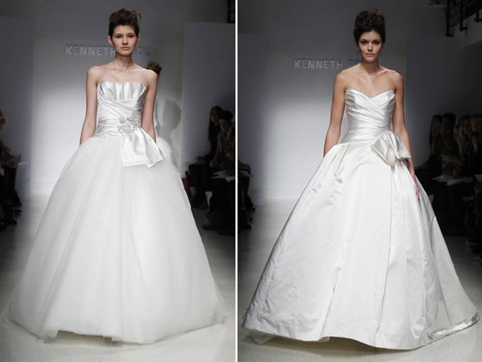 Kenneth Pool Amour Wedding Dress Sample Size 10 3 190