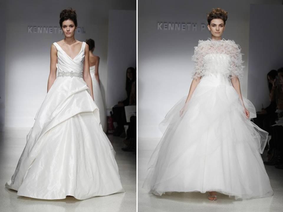 2012-wedding-dresses-kenneth-pool-white-v-neck-bridal-gown-a-line-bridal-sash-textured-bolero-wedding-blogs_0.full