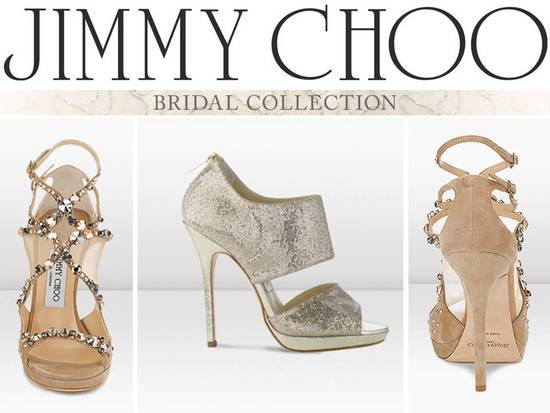 photo of Walk the White Aisle in Jimmy Choos
