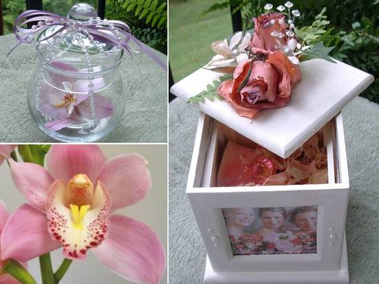 Save your wedding flowers and create something special for you, your bridesmaids or guests