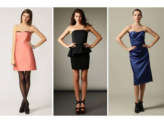 Chic designer bridesmaids' dresses on sale in Gilt's wedding boutique