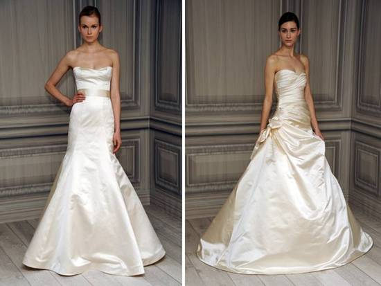photo of Monique Lhuillier Wedding Dresses, Spring 2012